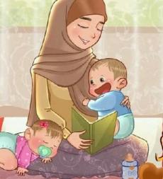 تربية الأم للطفل