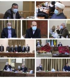 عقد اللقاء التنسيقي للمؤسسات الإسلامية اجتماعًا صباح اليوم في مبنى الإدارة العامة للمؤسسة.