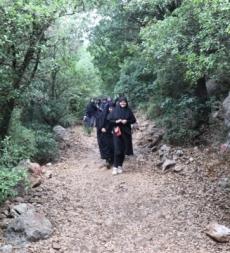 مسير في جبل صافي