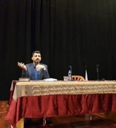 لقاء سياسي مع الدكتور حسام مطر