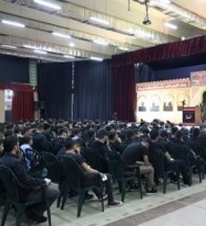 مدارس المهديّ (ع) تُحيي ذكرى عاشوراء بمجالس حسينيّة