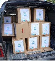 """مشروع """"ولو بشق تمرة"""" للفقراء والمحتاجين في ثانويةالمهدي(ع) صور"""