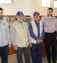 (سلة الخيرفي شهر الخير من مدارس المهدي (ع) إلى عوائل لجنة إمداد الإمام الخميني (قده