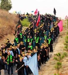 مدارس المهديّ (ع) تنظّم المسيرات الحسينيّة تلبية لنداء أبي عبد الله الحسين (ع)