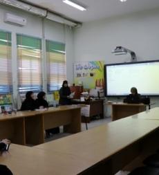 الكشف صحي في ثانوية المهدي (ع) بنت جبيل