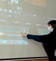 ورشة إعداد فيديو تعليمي   Camtasia لفريق عمل مركز الإمداد الرعائي- بعلبك