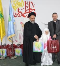المؤسّسة الإسلاميّة للتربية والتعليم وجمعيّة إمداد الإمام الخمينيّ (قده) تقيمان حفل التكليف السنوي في مدرسة المهدي (ع) النبي شيث