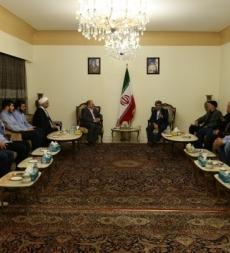 زيارة السفير الإيراني