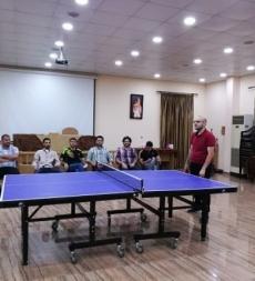 المؤسّسة الإسلاميّة للتربية والتعليم مدارس المهديّ (ع) تقيم دورة رياضيّة في لعبة كرة الطاولة