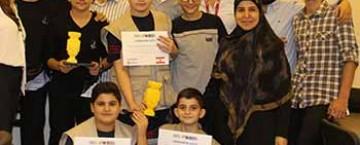 مدارس المهدي (ع) تحصد المرتبتين الأوليين بالبطولة الوطنية للروبوت (WRO)