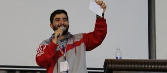 الخريج الأستاذ محمد علي الزين الحكم المتميز في بطولة الروبوت FLLالعالمية