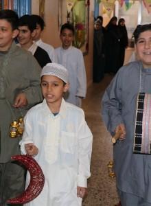 موكب استقبال شهر رمضان
