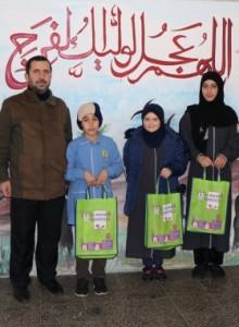 توزيع جوائز مسابقة الرسم