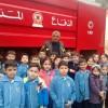 زيارة مركز الإطفاء في جباع