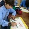 مرسم فنّي بمناسبة ولادة الإمام المهدي (ع)